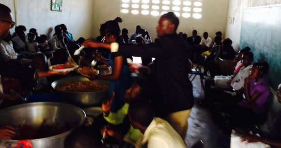 Feeding hungry people